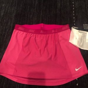 Nike golf skirt, shorts and bag Large